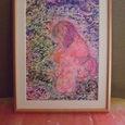 「幼い山桜」の絵