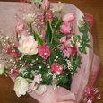 3月9日「春色の花束届く」